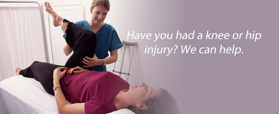 After an injury, you need a trusted rehabilitation provider – that's us.